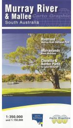 Murray River & Mallee Map - Carto Graphics