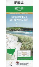 Nangus Topographic Map - 8427-1N