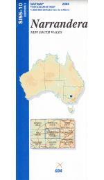 Narrandera Topographic Map - SI55-10