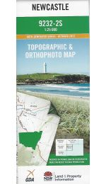 Newcastle Topographic Map 25k - 9232-2S