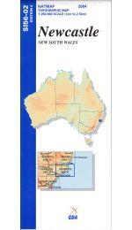 Newcastle 250k Topographic Map - SI56-02