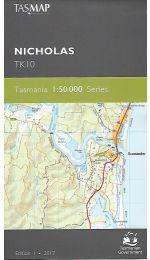 Nicholas Topographic Map - TK10