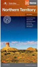 Northern Territory State Map - Hema Maps