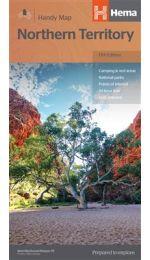 Northern Territory Handy Map - Hema Maps