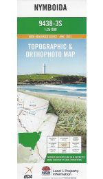 Nymboida Topographic Map - 9438-3S