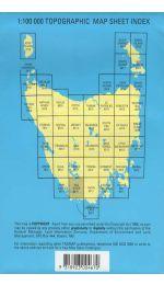 Old River TASMAP Topographic Map - 8111