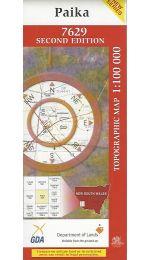 Paika Topographic Map 100k - 7629