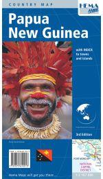 Papua New Guinea Map - Hema Maps