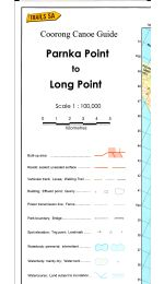 Parnka To Long Point Coorong Canoe Map