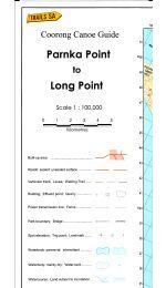 Parnka To Long Point Coorong Canoe Map