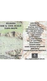 Pilbara Raster 50K  Digital Maps USB - Greg Harewood