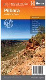 Pilbara and Coral Coast - Hema Maps