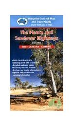 Plenty and Sandover Highways Map - Westprint