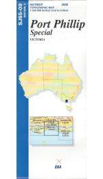 Port Phillip Special Topographic Map - SJ55-09