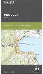 Prosser Topographic Map 50k - TP09