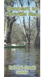 Ral Ral Creek Canoe Guide Map