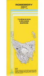 Rosebery TAS Topographic Map - 3637