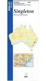 Singleton Topographic Map - SI56-01