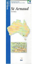 St Arnaud Topographic Map - SJ54-04