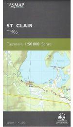 St Clair Topographic Map - TM06