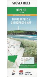 Sussex Inlet Topographic Map - 9027-4S