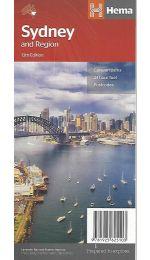 Sydney and  Region Map - Hema Maps