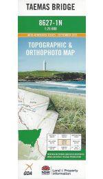 Taemas Bridge Topographic Map - 8627-1N