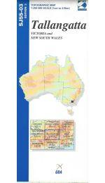 Tallangatta Topographic Map - SJ55-03