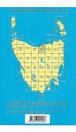 Tamar 1:100000 Topographic Map 8215 Tasmap