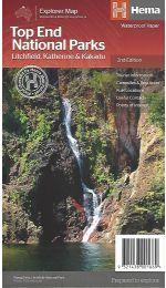 Top End National Parks - Litchfield/Katherine/Kakadu Hema Maps