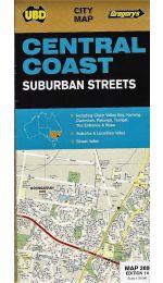 Central Coast Suburban Street Map - UBD