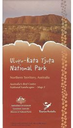Uluru-Kata Tjuta National Park 100k Map