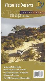 Victoria's Deserts 4WD Map - Meridian