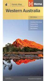 Western Australia Handy Map - Hema Maps