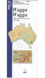 Wagga Wagga Topographic Map - SI55-15