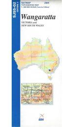 Wangaratta Topographic Map - SJ55-02