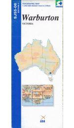 Warburton Topographic Map - SJ55-06