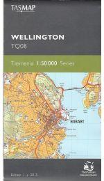 Wellington Topographic Map 50k - TQ08