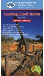 Canning Stock Route Map - Westprint