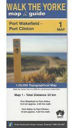 Walk The Yorke Map 1 - Port Wakefield to Port Clinton