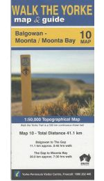Walk The Yorke Map 10 - Balgowan to Moonta Bay