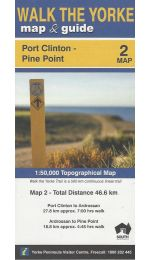 Walk The Yorke Map 2 - Port Clinton to Pine Point