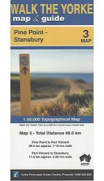 Walk The Yorke Map 3 - Pine Point to Stansbury