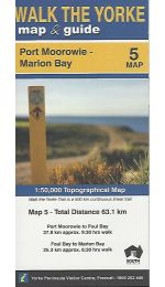 Walk The Yorke Map 5 - Port Moorowie to Marion Bay