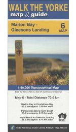 Walk The Yorke Map 6 - Marion Bay to Gleesons Landing