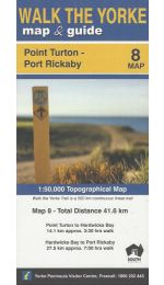 Walk The Yorke Map 8 - Point Turton to Port Rickaby