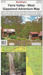 Yarra Valley West Gippsland Map - Rooftop