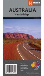 Australia Handy Map Folded - Hema Maps