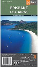 Brisbane To Cairns Map - Hema Maps